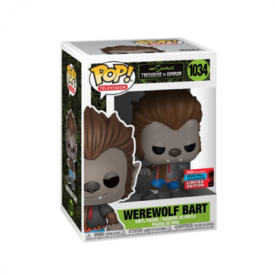 Funko POP! The Simpsons Treehouse Of Horror Werewolf Bart #1034 Exclusive