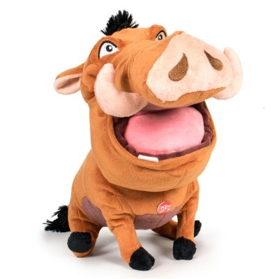 Peluche Disney Pumba c/ Som 30cm Play By Play