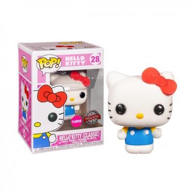 Funko POP! Hello Kitty Classic #28 Flocked Exclusive