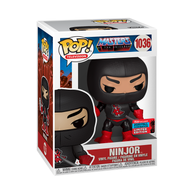 Funko POP! Television Masters Of The Universe Ninjor #1036 NYCC2020 Exclusive