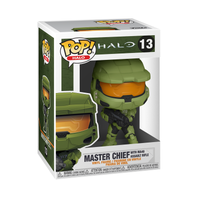 Funko POP! Games HALO Infinite Master Chief With MA40 Assault Rifle #13