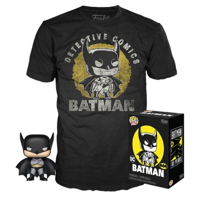 Funko POP! Tees DC Batman Sun Faded Exclusive
