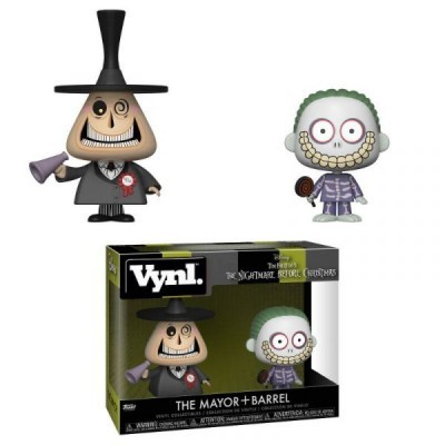 Funko! Vynl The Nightmare Before Christmas The Mayor + Barrel