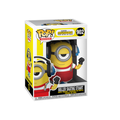 Funko POP! Movies Minions The Rise of Gru Roller Skating Stuart #902