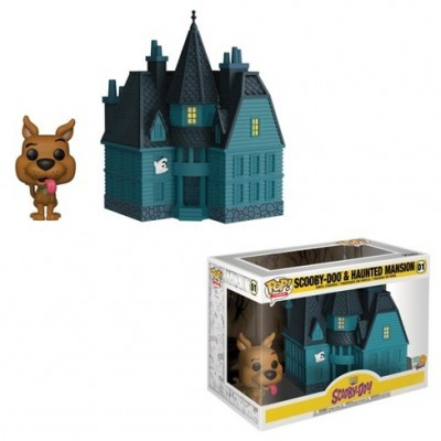 Funko POP! Scooby-Doo! Scooby Doo & Haunted Mansion #01