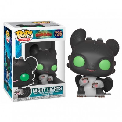 Funko! Pop How to Train your Dragon 3 Night Lights Alisson #726 (Caixa Danificada)