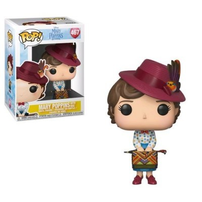 Funko POP! Disney Mary Poppins Returns Mary Poppins With Bag #467
