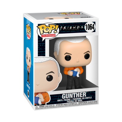 * PRÉ-RESERVA * Funko POP! Television Friends Gunther #1064