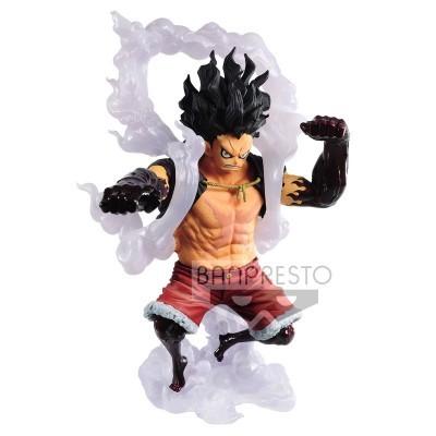 Figura The Monkey D. Luffy King of Artist One Piece B 14cm Banpresto
