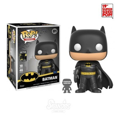 "Funko POP! Batman 80 Anos Batman 18"" Super Sized"