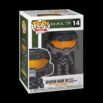 Funko POP! Games HALO Infinite Spartan Mark VII With VK78 Commando Rifle #14