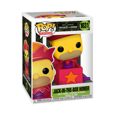 Funko POP! The Simpsons Treehouse Of Horror Homer Jack-In-The-Box #1031