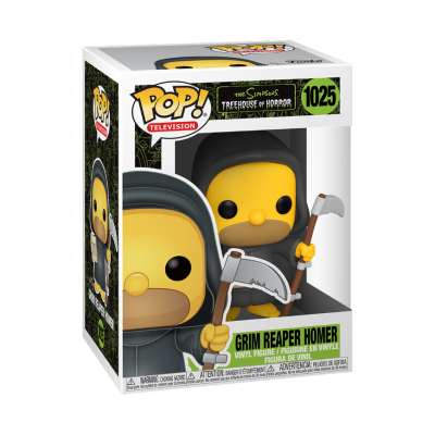 Funko POP! The Simpsons Treehouse Of Horror Grim Reaper Homer #1025