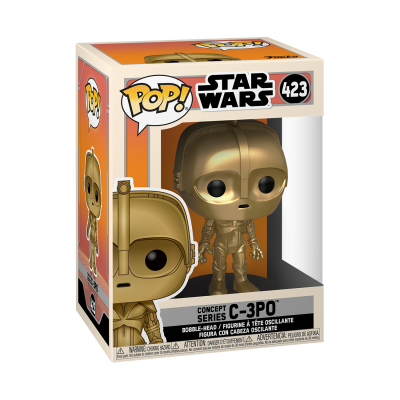 * PRÉ-RESERVA * Funko POP! Star Wars Concept Series C-3PO #423