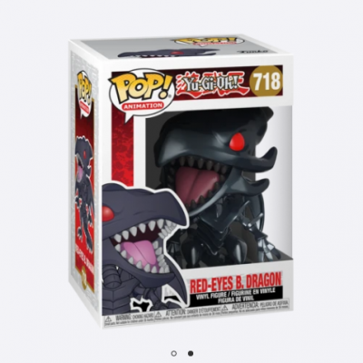 Funko POP! Yu-Gi-Oh! Red-Eyes B. Dragon #718