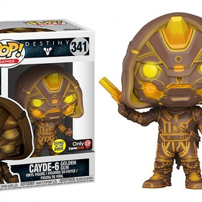 Funko! Pop Destiny Cayde - 6 Exclusive GITD