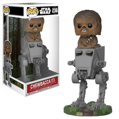 Funko! Pop Star Wars Chewbacca with AT-ST