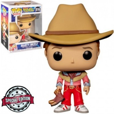Funko! Pop Back To The Future Marty Mcfly Special Edition #816