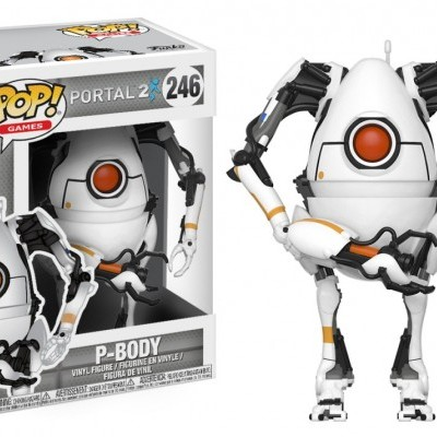 Funko! Pop Games Portal 2 P-Body #246