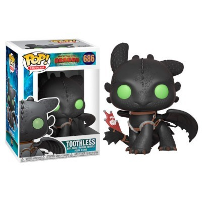 Funko! Pop How to Train your Dragon 3 Toothless