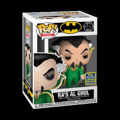 Funko POP! Heroes Batman Ra's Al Ghul #345 SDCC2020 Exclusive