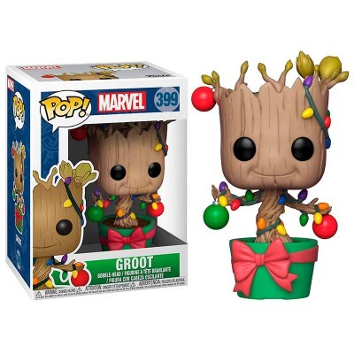 Funko! Pop Marvel Holiday Groot with Lights & Ornaments