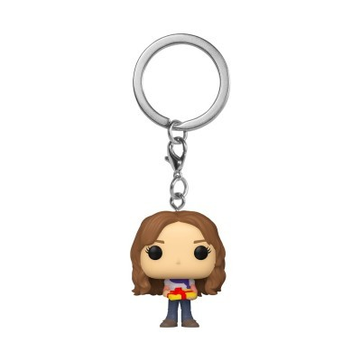 Funko Pocket POP! Keychain Harry Potter Hermione Granger Holiday