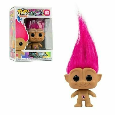 Funko POP! Good Luck Trolls Pink Troll #03