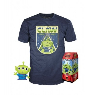 Funko POP! Tees Toy Story Box The Claw (Pop Glows In The Dark)