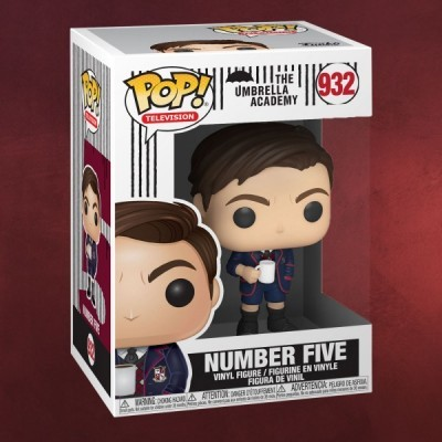 Funko! Pop Television The Umbrella Academy Number Five #932