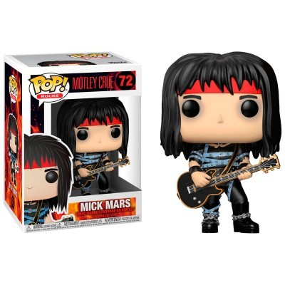 Funko! Pop Motley Crue Mick Mars #72