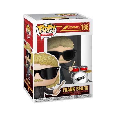 Funko! Pop Rocks ZZ Top Frank Beard #166