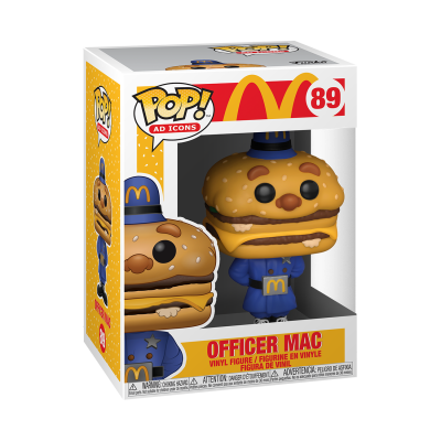 Funko POP! Ad Icons McDonald's Officer Mac #89