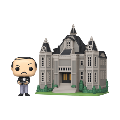 Funko! Pop Town Alfred Pennyworth With Wayne Manor #13