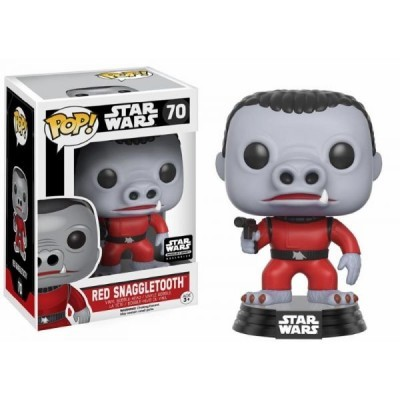 Funko! Pop Star Wars Red Snaggletooth #70 Exclusive