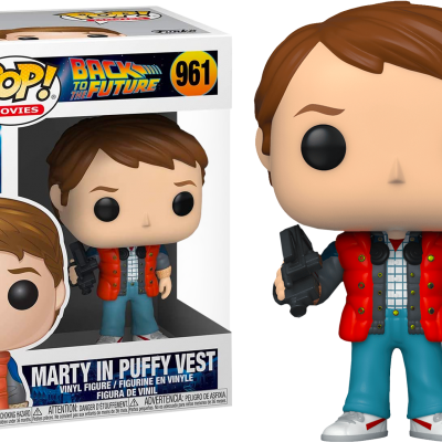 Funko POP! Movies Back To The Future Marty In Puffy Vest #961