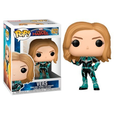 Funko! Pop Marvel Captain Marvel Vers