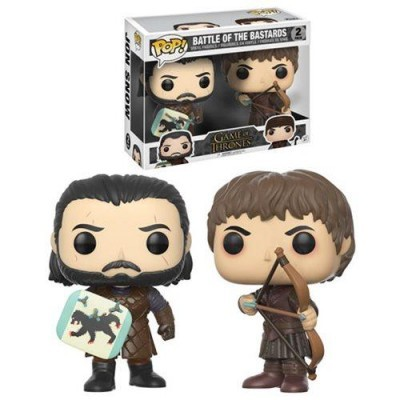 Funko! Pop Game of Thrones Battle Of The Bastards 2 Pack