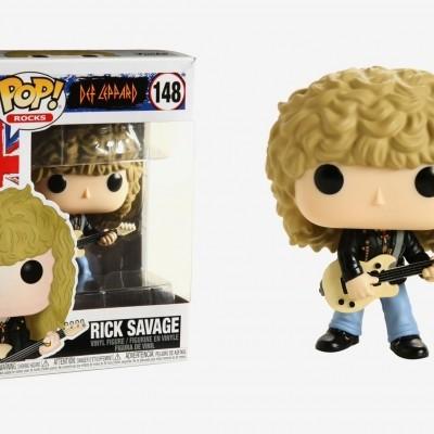 Funko! Pop Rocks Def Leppard Rick Savage #148
