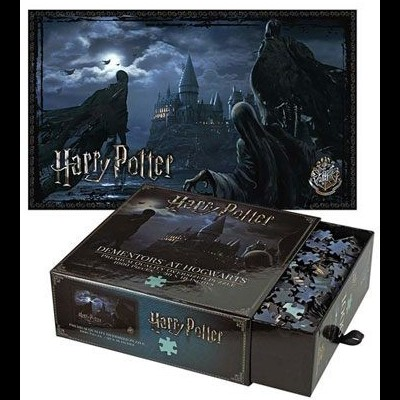 Puzzle Harry Potter Dementors At Hogwarts 1000 Peças The Noble Collection