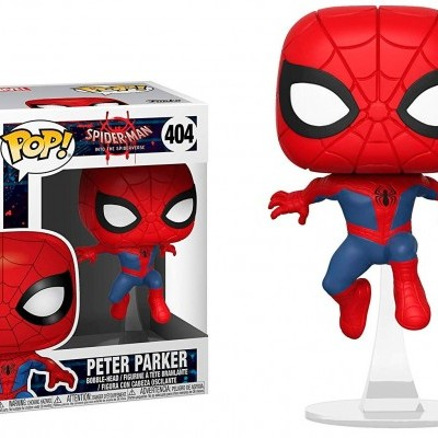 Funko! Pop Spiderman Into the Spider Verse Peter Parker #404