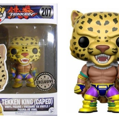 Funko! Pop Tekken Tekken King (Caped) Exclusive #207