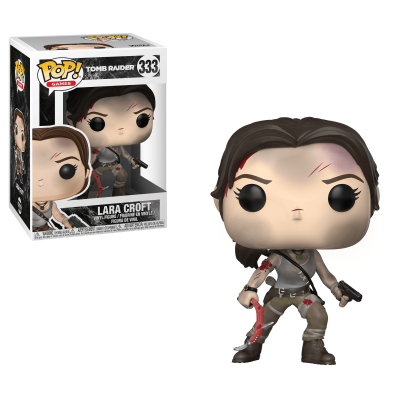 Funko! Pop Games Tomb Raider Lara Croft #333