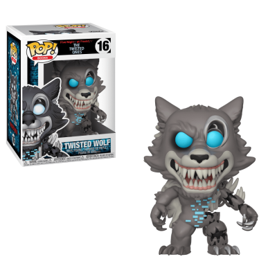 Funko! Pop Books Five Nights at Freddy's The Twested Ones Twisted Wolf #16