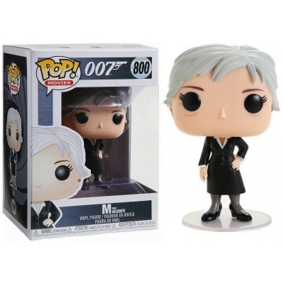 Funko! Pop 007 M from Goldeneye