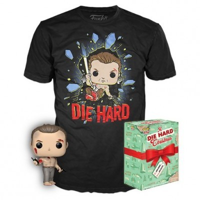 Funko POP! Tees Movies A Die Hard Christmas