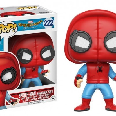 Funko! Pop Marvel Spider-Man Homecoming Spider-Man (Homemade Suit) #222