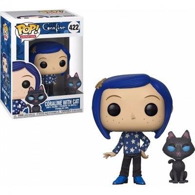 Funko! Pop Coraline Coraline with Cat