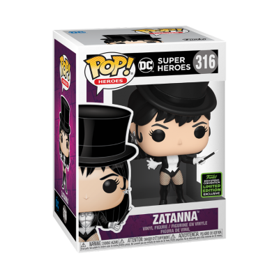 Funko POP! DC Super Heroes Zatanna #316 ECCC2020 Exclusive