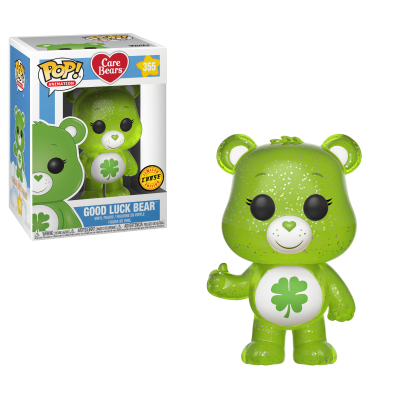 Funko POP! Care Bears Lucky Bear Glitter #355 CHASE